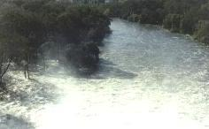 Murray River in flood below Hume Dam